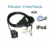Music Interface AUX Buchse - Quadlock - Audi VW Seat Skoda