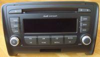 Audi Radio CD Concert 3, Concert3 TT 8J Modell mit MP3