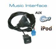 Music Interface AUX Buchse - Mini ISO - Audi VW Seat Skoda