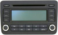 VW CD-Radio 6-fach Wechsler RCD 500 Golf V Touran Passat