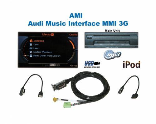 AMI Audi Music Interface - Retrofit - Audi A5 8T w/ MMI 3G