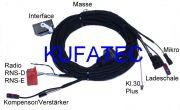 Kabelsatz FSE Handyvorbeitung BT Audi TT `07 Komplett