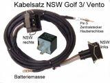 Kabelsatz Nebelscheinwerfer Golf 3 III + Relais