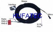Kabelsatz FSE Handyvorbeitung BT Audi A4 Cabrio Nur Bluetooth