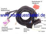 Kabelsatz Navigationssystem BNS 3.X, 4.X (Navi klein) Audi A4 8H