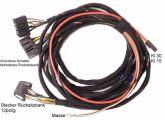 Spezifischer Kabelsatz zum Anschluss einer Rücksitzbank mit inte