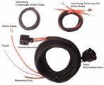 Kabelsatz Scheinwerferreinigungsanlage Passat 3BG ohne Geber